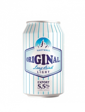(24 kpl) Hartwall Original Long Drink Light 5,5% 33cl