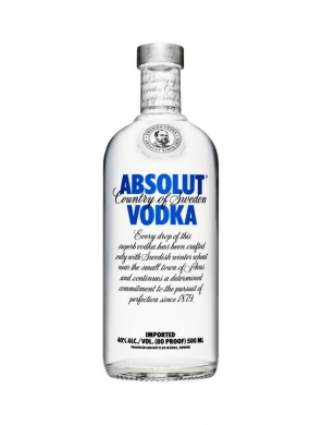 Absolut Vodka 40% 50cl