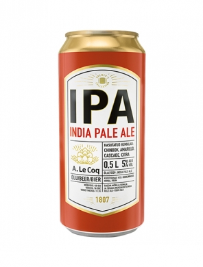 (24kpl) A Le Coq IPA India Ale 5%, 50cl