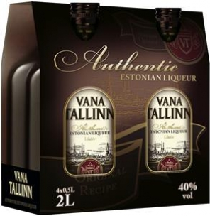 Vana Tallinn 40%   4x  50cl PET