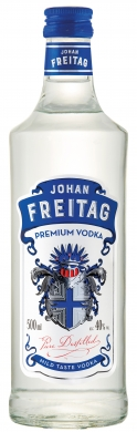 Johan Freitag Vodka  40% 50cl