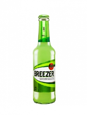 (12 kpl) Bacardi Breezer Lime 4%  27,5cl