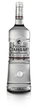 Russian Standard Platinum Vodka 40% 100cl