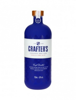 Crafters London Dry Gin 43% 100cl