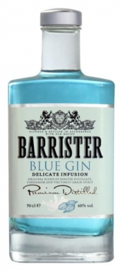 Barrister Blue  Gin 40 % 70cl