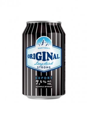 (24 kpl) Hartwall Original Long Drink Strong 7,5% 33cl