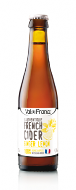 (24 kpl) Val de France French Cider Ginger Lemon 4.5%  24x 33cl