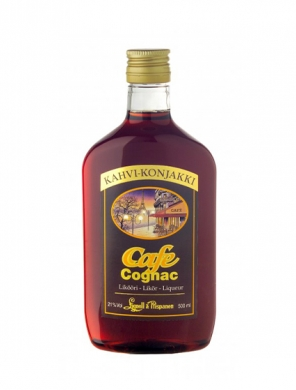 Lignell&Piispanen; Cafe-Cognac Likööri 21% 50cl PET