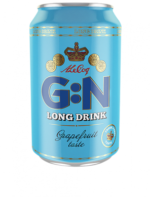 (24 kpl) A Le Coq Long Drink 5,5% 33cl