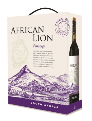 12,5% 300cl African Lion Pinotage