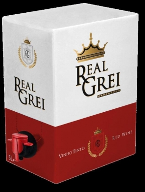 Real Grei  Red 13.5%  500cl BIB