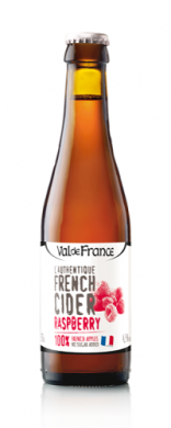 (24 kpl) Val de France French Cider Raspberry4.5%  24x 33cl