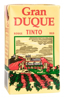 10% Gran Duque Red 100cl tetra