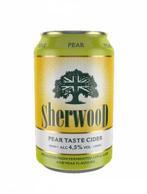 (24 kpl) Sherwood Pear Cider 4,5% 33cl