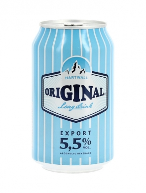 (24 kpl) Hartwall Original Long Drink 5,5% 33cl