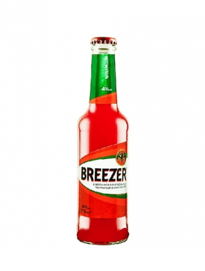 (12 kpl) Bacardi Breezer Watermelon 4% 27,5cl