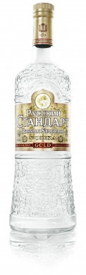 Russian Standard Gold Vodka 40% 100cl
