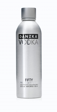 Danzka Vodka Fifty 50% 100cl