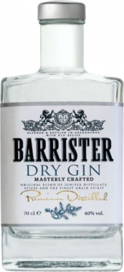 Barrister Dry  Gin 40 % 70cl