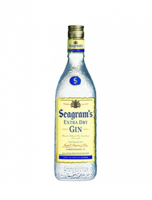 Seagram's Extra Dry Gin 40% 70cl